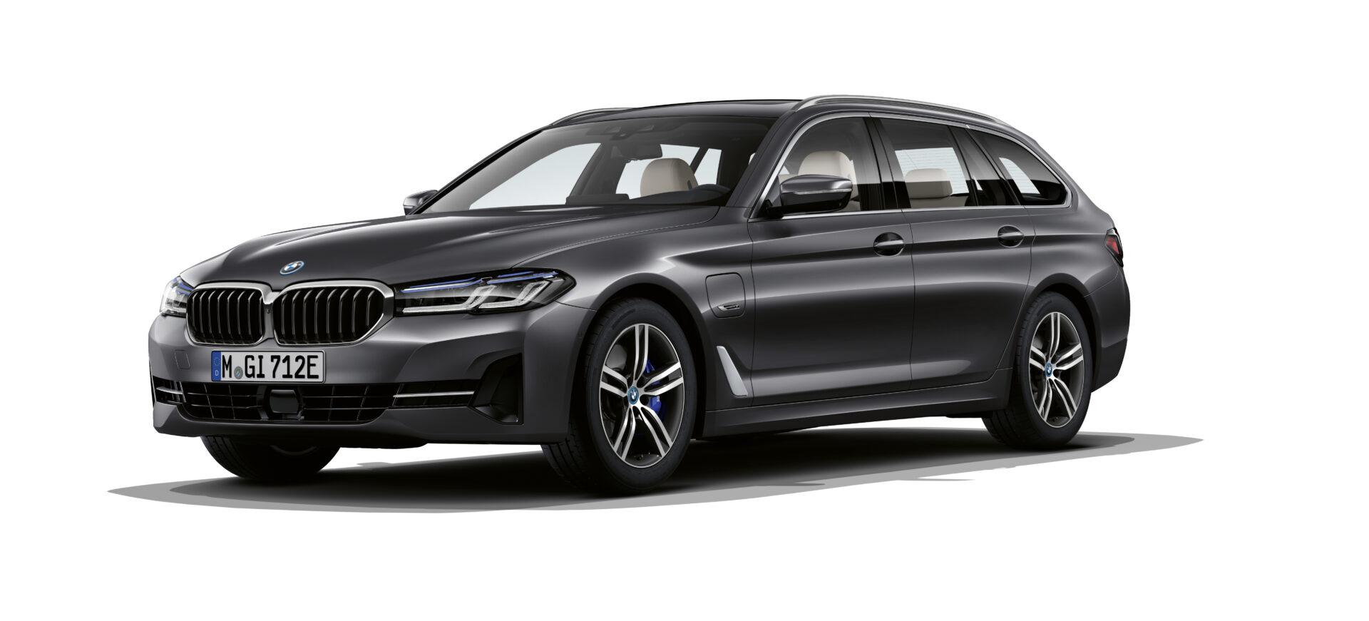 Dunkelgrauer BMW 5er Touring Modell 2021