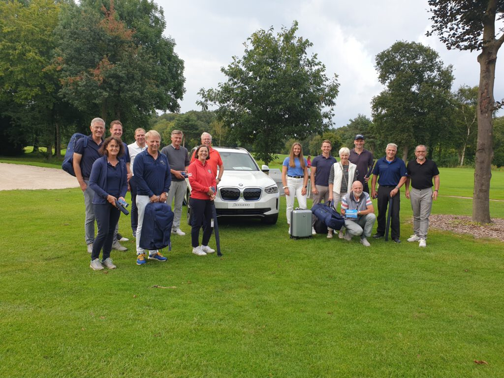 Siegerfoto des BMW Boomers Monatsteller GLC Golf und Landclub Ahaus e.V.